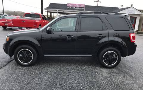2011 Ford Escape for sale at TAVERN MOTORS in Laurens SC