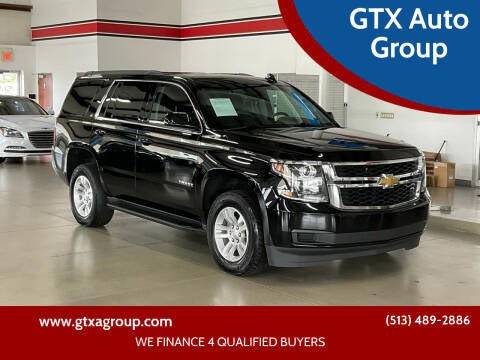 2018 Chevrolet Tahoe for sale at GTX Auto Group in West Chester OH