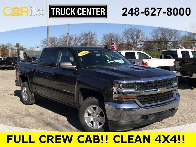 2016 Chevrolet Silverado 1500 for sale at Carite Truck Center in Ortonville MI