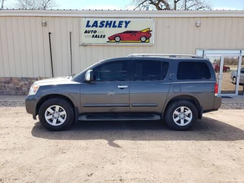 2012 Nissan Armada for sale at Lashley Auto Sales in Mitchell NE