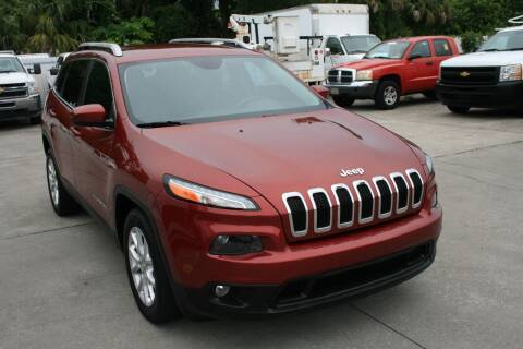 2014 Jeep Cherokee for sale at Mike's Trucks & Cars in Port Orange FL