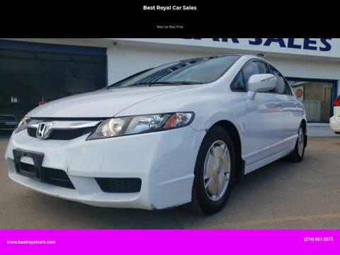 2011 Honda Civic for sale at Best Royal Car Sales in Dallas TX