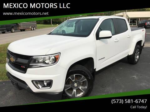 2015 Chevrolet Colorado for sale at MEXICO MOTORS LLC in Mexico MO