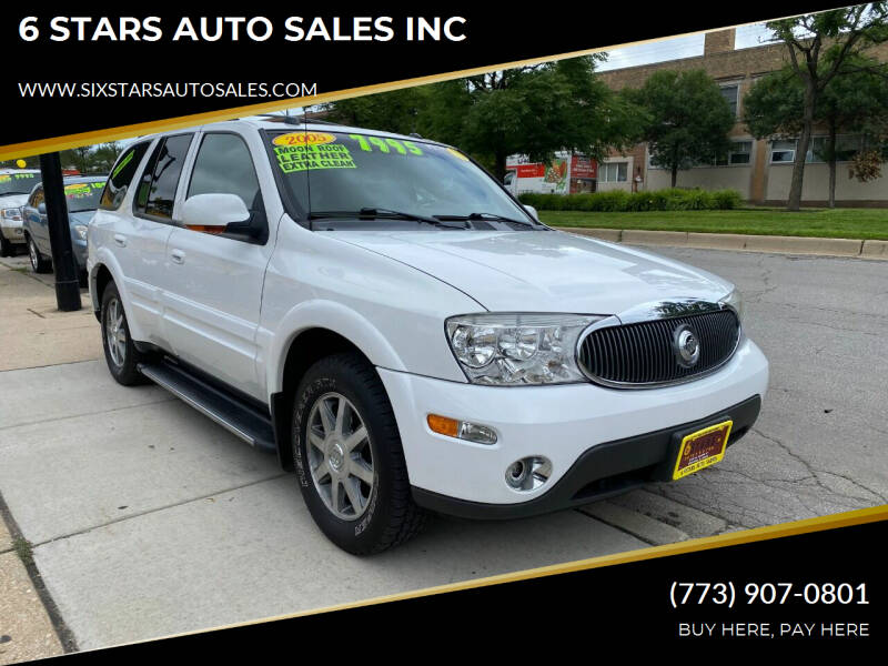 2005 Buick Rainier for sale at 6 STARS AUTO SALES INC in Chicago IL