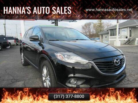2013 Mazda CX-9 for sale at Hanna's Auto Sales in Indianapolis IN