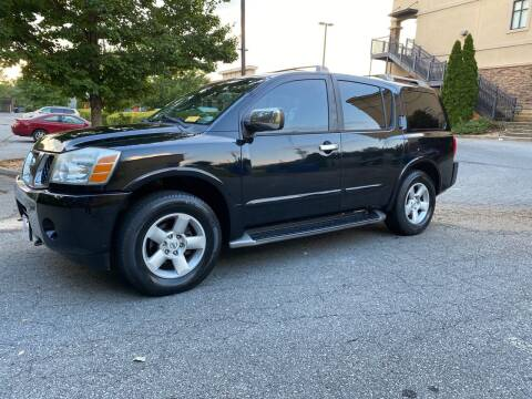 2004 Nissan Armada for sale at GTO United Auto Sales LLC in Lawrenceville GA