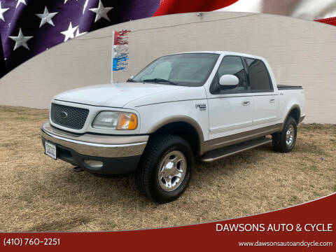 2001 Ford F-150 for sale at Dawsons Auto & Cycle in Glen Burnie MD
