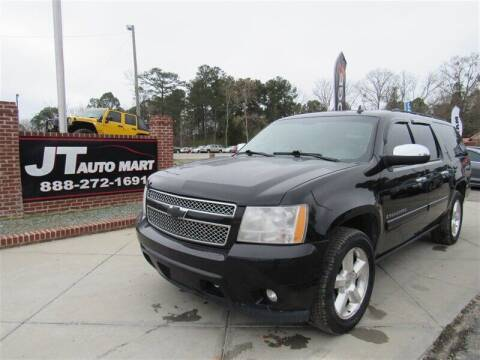 2008 Chevrolet Suburban for sale at J T Auto Group in Sanford NC