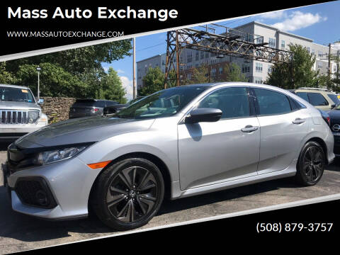2018 Honda Civic for sale at Mass Auto Exchange in Framingham MA