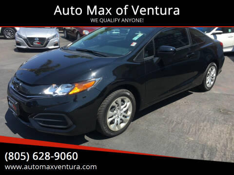 2014 Honda Civic for sale at Auto Max of Ventura in Ventura CA