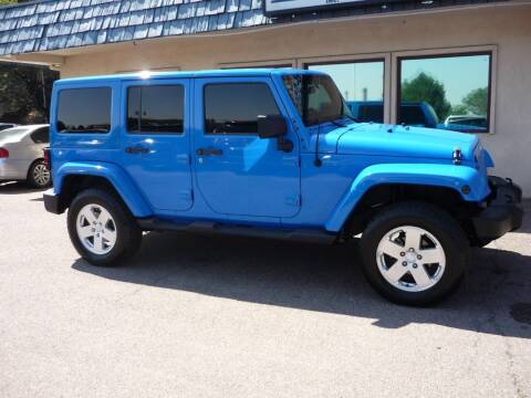 2011 Jeep Wrangler Unlimited for sale at Mountain View Motors Inc in Colorado Springs CO