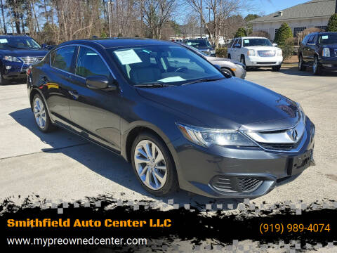 2016 Acura ILX for sale at Smithfield Auto Center LLC in Smithfield NC