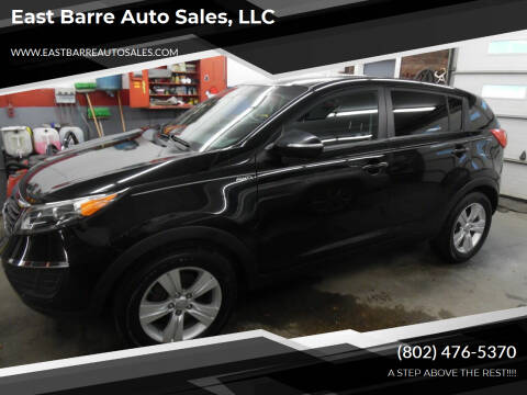 2012 Kia Sportage for sale at East Barre Auto Sales, LLC in East Barre VT