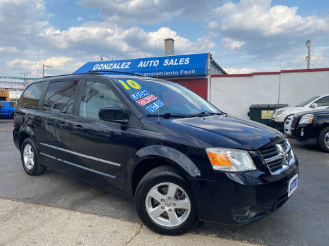 2010 Dodge Grand Caravan for sale at Gonzalez Auto Sales in Joliet IL