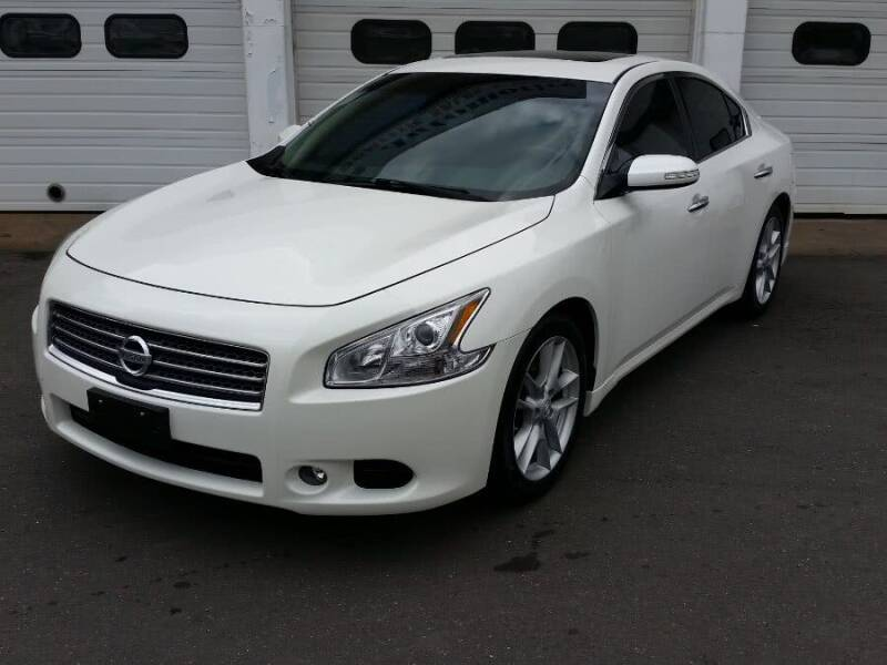 2010 Nissan Maxima for sale at Action Automotive Inc in Berlin CT