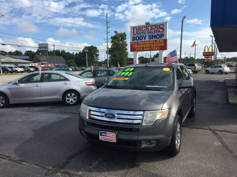 2009 Ford Edge for sale at Deckers Auto Sales Inc in Fayetteville NC