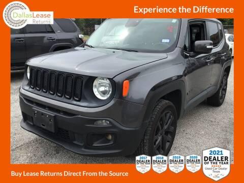 2016 Jeep Renegade for sale at Dallas Auto Finance in Dallas TX