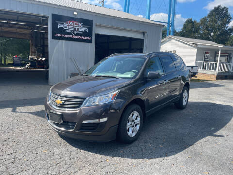 2017 Chevrolet Traverse for sale at Jack Foster Used Cars LLC in Honea Path SC