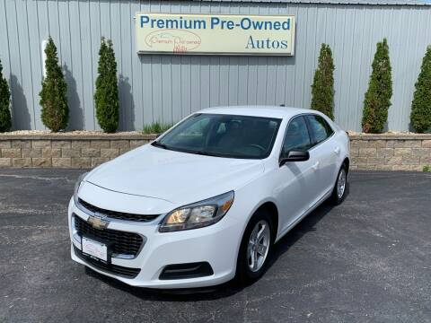 2015 Chevrolet Malibu for sale at PREMIUM PRE-OWNED AUTOS in East Peoria IL