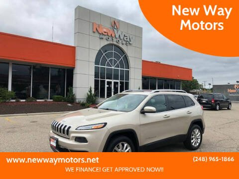 2014 Jeep Cherokee for sale at New Way Motors in Ferndale MI