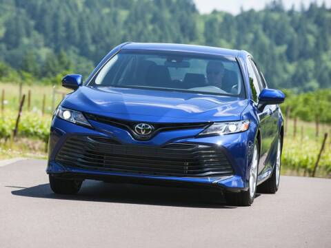 2018 Toyota Camry for sale at MILLENNIUM HONDA in Hempstead NY