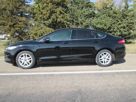 2016 Ford Fusion for sale at Joe's Motor Company in Hazard NE