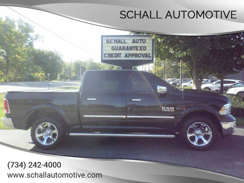 2015 RAM Ram Pickup 1500 for sale at Schall Automotive in Monroe MI