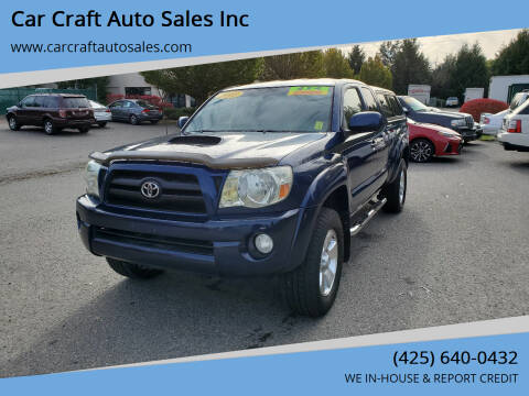 2005 Toyota Tacoma for sale at Car Craft Auto Sales Inc in Lynnwood WA