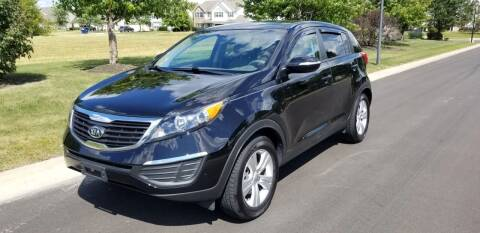 2012 Kia Sportage for sale at CALDERONE CAR & TRUCK in Whiteland IN