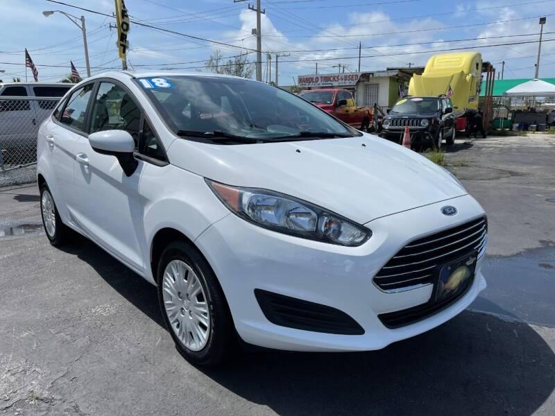 2018 Ford Fiesta for sale at MIAMI AUTO LIQUIDATORS in Miami FL