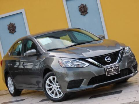 2018 Nissan Sentra for sale at Paradise Motor Sports LLC in Lexington KY