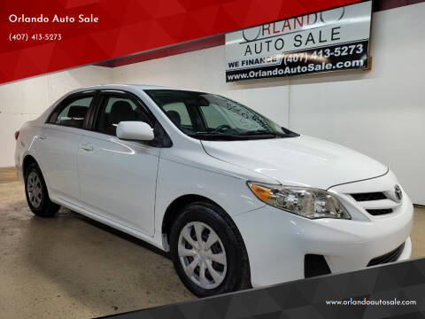 2011 Toyota Corolla for sale at Orlando Auto Sale in Orlando FL