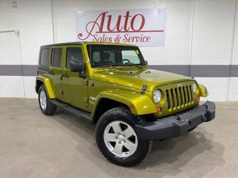 2007 Jeep Wrangler Unlimited for sale at Auto Sales & Service Wholesale in Indianapolis IN