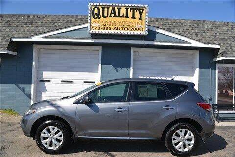 2014 Nissan Murano for sale at Quality Pre-Owned Automotive in Cuba MO