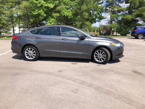 2017 Ford Fusion for sale at St. Louis Used Cars in Ellisville MO