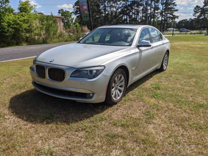 2011 BMW 7 Series for sale at Hal's Auto Sales in Suffolk VA