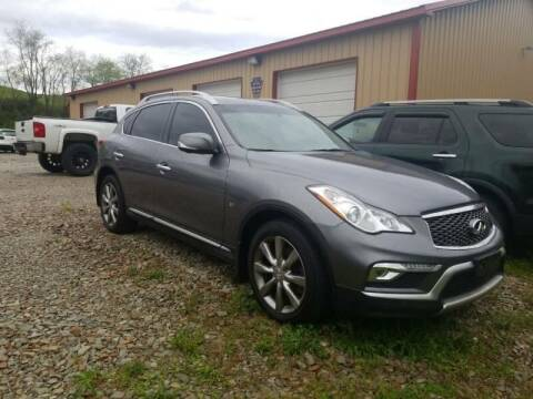 2016 Infiniti QX50 for sale at Elite Motors in Uniontown PA