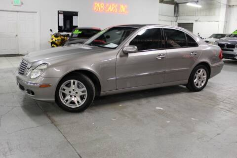 2004 Mercedes-Benz E-Class for sale at R n B Cars Inc. in Denver CO