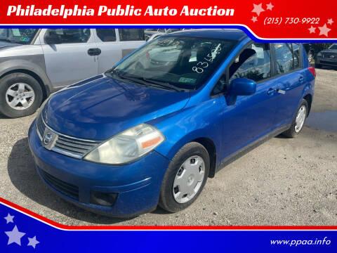2008 Nissan Versa for sale at Philadelphia Public Auto Auction in Philadelphia PA