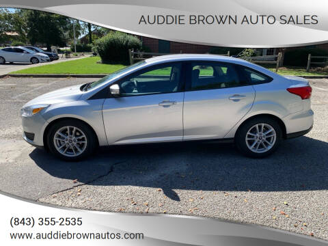 2017 Ford Focus for sale at Auddie Brown Auto Sales in Kingstree SC