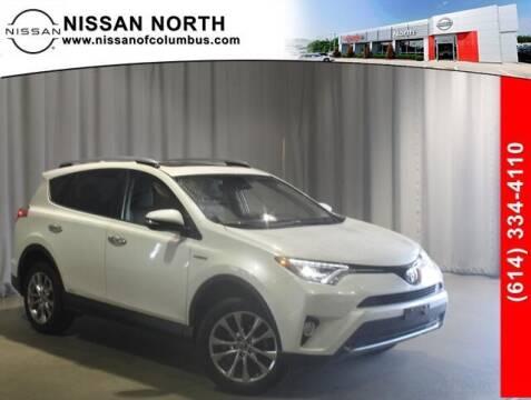 2017 Toyota RAV4 Hybrid for sale at Auto Center of Columbus in Columbus OH