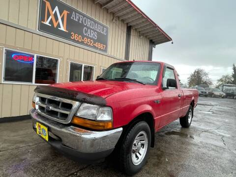 1999 Ford Ranger for sale at M & A Affordable Cars in Vancouver WA