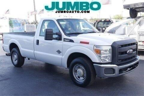 2012 Ford F-250 Super Duty for sale at Jumbo Auto & Truck Plaza in Hollywood FL