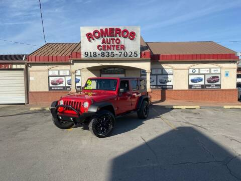 2009 Jeep Wrangler Unlimited for sale at Romeros Auto Center in Tulsa OK