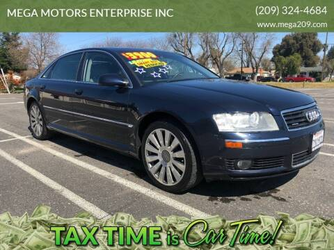 2004 Audi A8 L for sale at MEGA MOTORS ENTERPRISE INC in Modesto CA