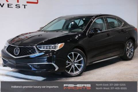 2018 Acura TLX for sale at Fishers Imports in Fishers IN