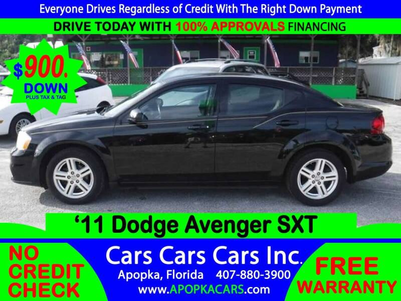 2011 Dodge Avenger for sale at CARS CARS CARS INC in Apopka FL