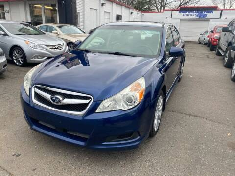 2010 Subaru Legacy for sale at Manchester Motors in Manchester CT