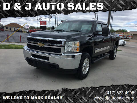 2011 Chevrolet Silverado 3500HD for sale at D & J AUTO SALES in Joplin MO