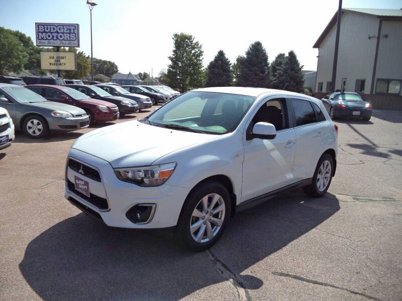 2013 Mitsubishi Outlander Sport for sale at Budget Motors - Budget Acceptance in Sioux City IA